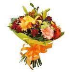 mixed bunch of flowers